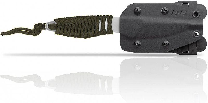 ANVKnives Nôž s pevnou čepeľou P100 N690 SW - olivový (ANVP100-004)