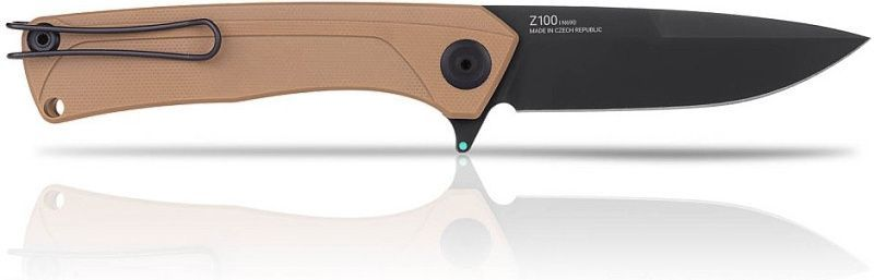 ANVKnives Zatvárací nôž Z100 Sleipner/G10 DLC - coyote (ANVZ100-023)