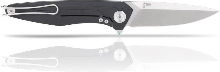 ANVKnives Zatvárací nôž Z300 D2/ SW Dural/G10 Frame Lock - čierny (ANVZ300-009)